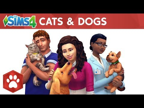 The Sims 4 Cats and Dogs Expansion Origin Key